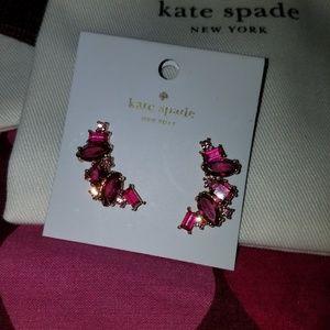 SOLD BNWT Kate Spade Earrings Climbers Crawlers